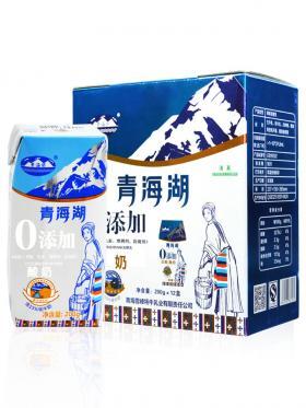 青海湖0添加钻酸奶200ml*12盒