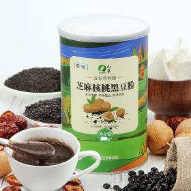 中粮山萃芝麻核桃黑豆营养粉(罐)